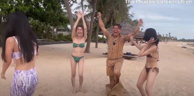 Vedette Vũ Thu Phương tổ chức Running Man phiên bản bikini, chơi xong loạn tiền đình luôn! - Ảnh 9.