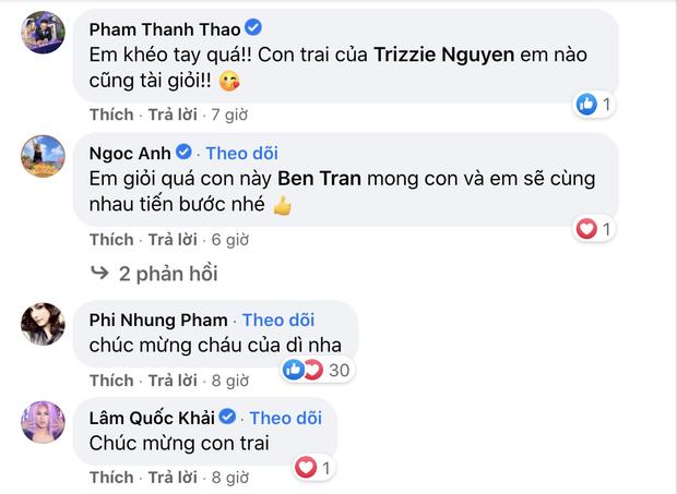 Vợ cũ Bằng Kiều tự hào khoe thành tích học tập khủng của con trai cả ở Mỹ, cả dàn sao Việt rần rần vào chúc mừng - Ảnh 3.