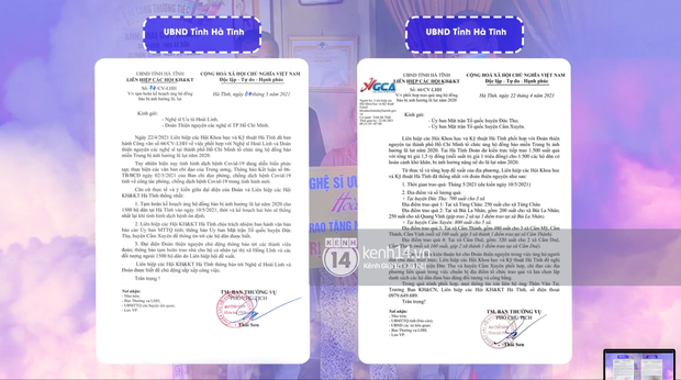 NS Hoài Linh tung giấy tờ từ các địa phương miền Trung, xác nhận loạt hoạt động từ thiện trích từ khoản 13,7 tỷ đồng - Ảnh 6.