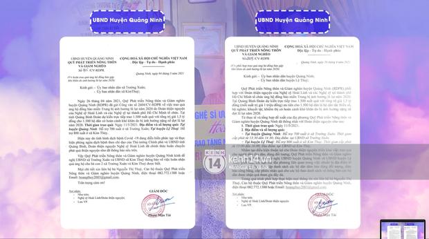 NS Hoài Linh tung giấy tờ từ các địa phương miền Trung, xác nhận loạt hoạt động từ thiện trích từ khoản 13,7 tỷ đồng - Ảnh 7.