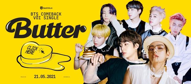 BTS lần đầu diễn Butter tại BBMAs 2021, tỏa sáng với visual và kỹ năng đỉnh dù sân khấu tối om! - Ảnh 7.
