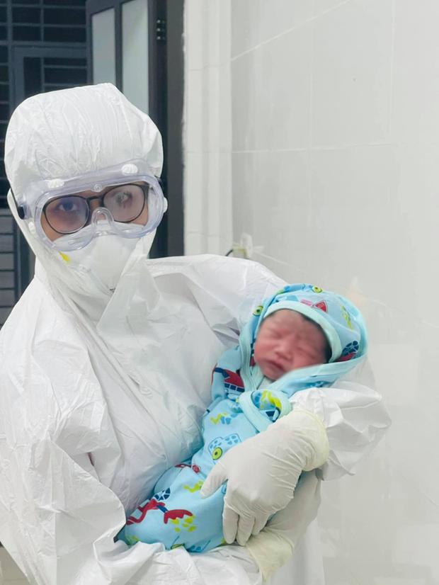 Sản phụ COVID-19 sinh con trong khu cách ly tại Bắc Giang - Ảnh 2.