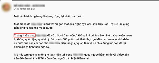 Netizen soi ra clip NS Hoài Linh vẫn đi từ thiện cùng nhãn hàng trong thời gian 6 tháng qua - Ảnh 2.