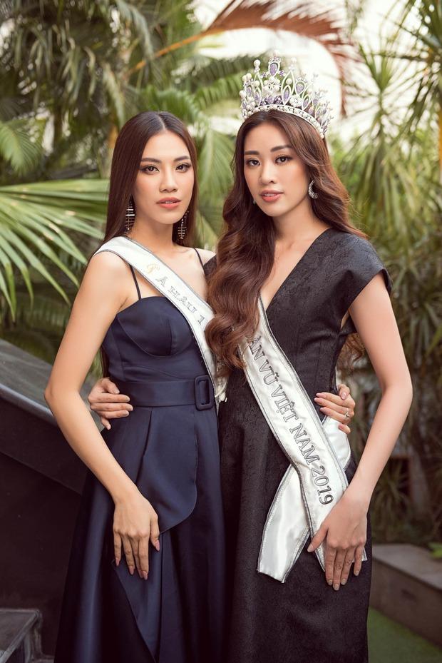 Hé lộ câu nói ngỡ ngàng Kim Duyên nói với Khánh Vân trong giây phút hồi hộp nghe kết quả ngôi vị Hoa hậu Hoàn vũ Việt Nam - Ảnh 6.
