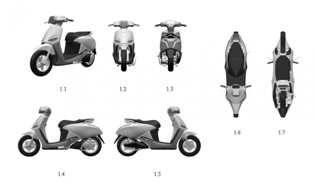 Lộ thông số kỹ thuật của xe máy điện VinFast Vento - Ảnh 2.