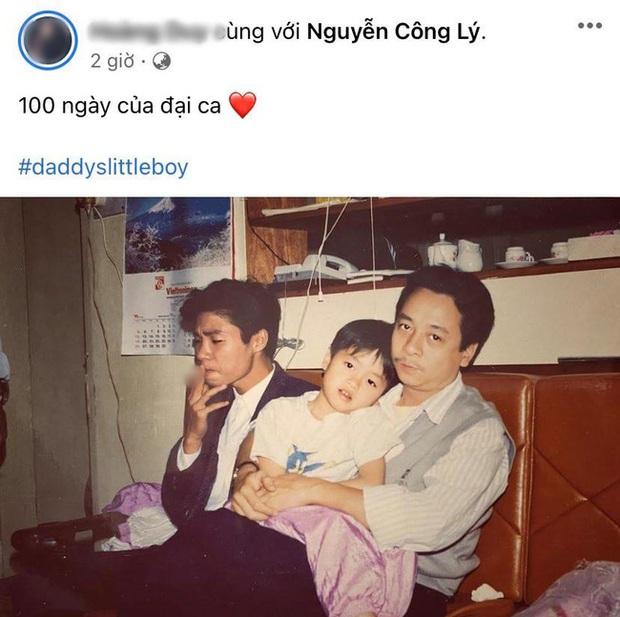 Tròn 100 ngày mất của NSND Hoàng Dũng Người phán xử, con trai tiết lộ hình ảnh gây xúc động - Ảnh 2.
