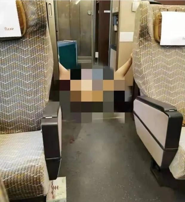 Nữ hành khách nổi điên hành hung nhân viên soát vé tàu, bất ngờ lột đồ rồi có hành động khiến người khác phải đỏ mặt quay đi - Ảnh 2.
