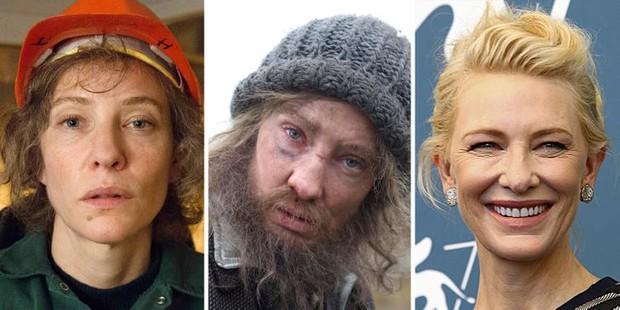 6 lần sao Hollywood tự hủy nhan sắc để đóng phim: Cate Blanchett mọc lông mũi dài thượt, Tom Cruise cũng phát phì - Ảnh 4.