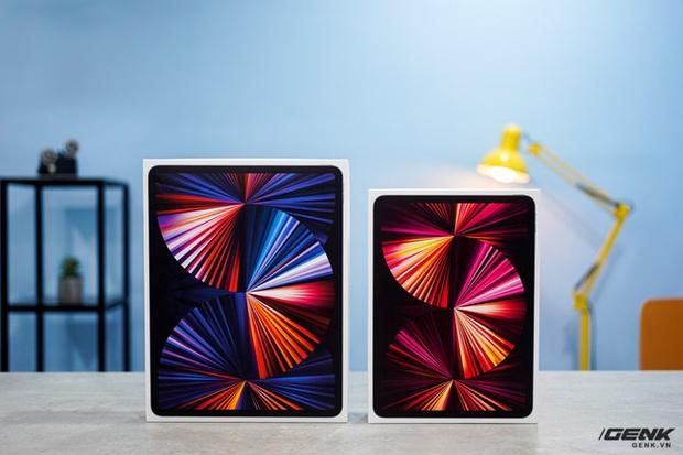 Mở hộp iPad Pro 2021: Ngoại hình không đổi, chip M1 mạnh mẽ, màn hình Mini LED trên bản 12,9 inch rất đẹp - Ảnh 1.