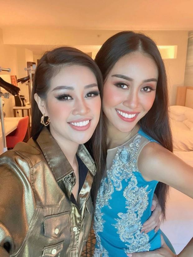 Khánh Vân cuối cùng đã hội ngộ Hoa hậu Malaysia 1 tuần sau Miss Universe, chị em vui mừng khôn xiết cùng làm 1 điều đặc biệt - Ảnh 8.