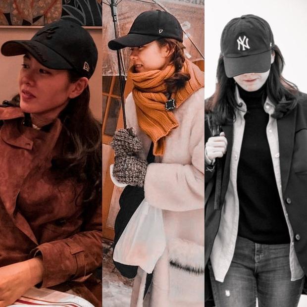 Son Ye Jin đẹp rung động lòng người khi diện đủ thể loại mũ, trót ngắm là không thể rời mắt - Ảnh 3.