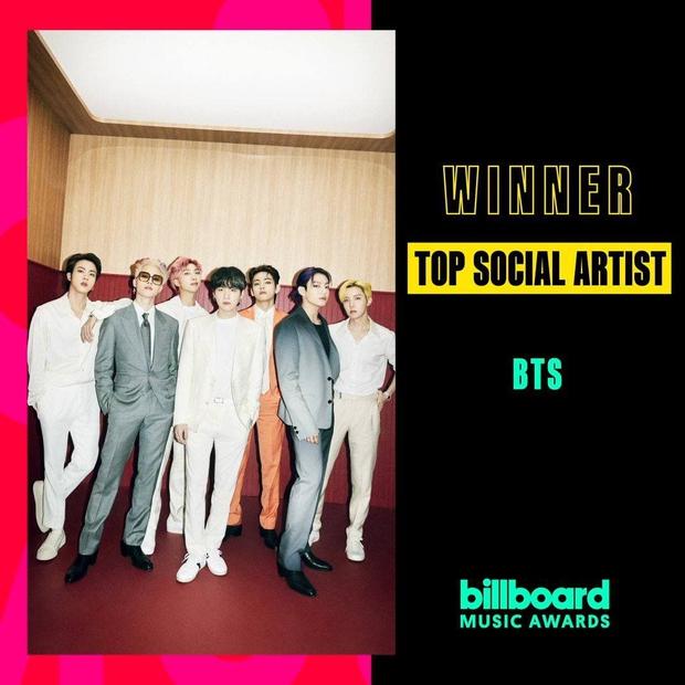 Không ai làm lại: BTS thắng tuyệt đối 4/4 đề cử khi sân khấu Billboard Music Awards 2021 còn chưa sáng đèn! - Ảnh 2.