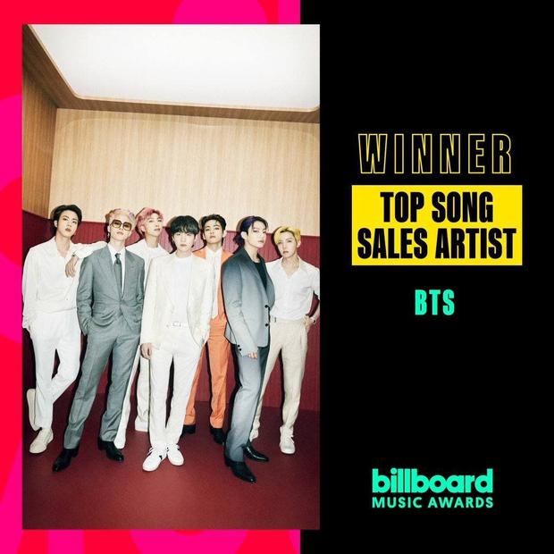 Không ai làm lại: BTS thắng tuyệt đối 4/4 đề cử khi sân khấu Billboard Music Awards 2021 còn chưa sáng đèn! - Ảnh 3.