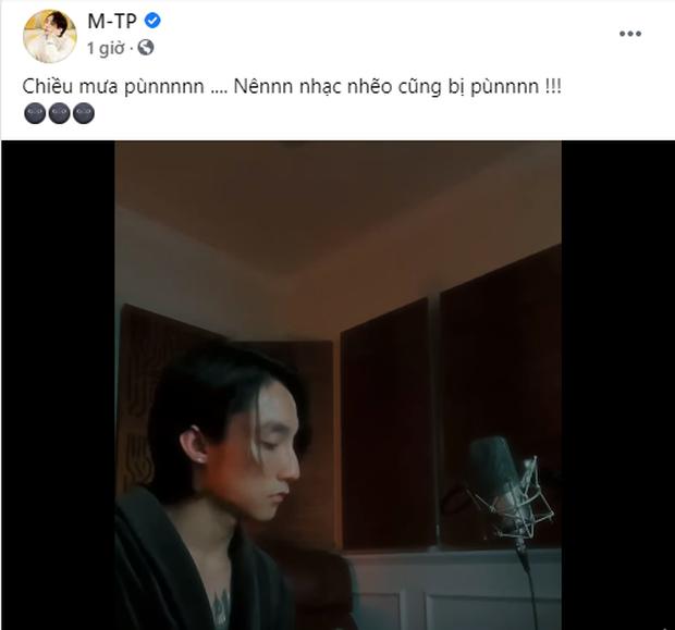 Trong lúc bà Phương Hằng livestream đại náo cõi mạng, Sơn Tùng pùn - Ảnh 1.