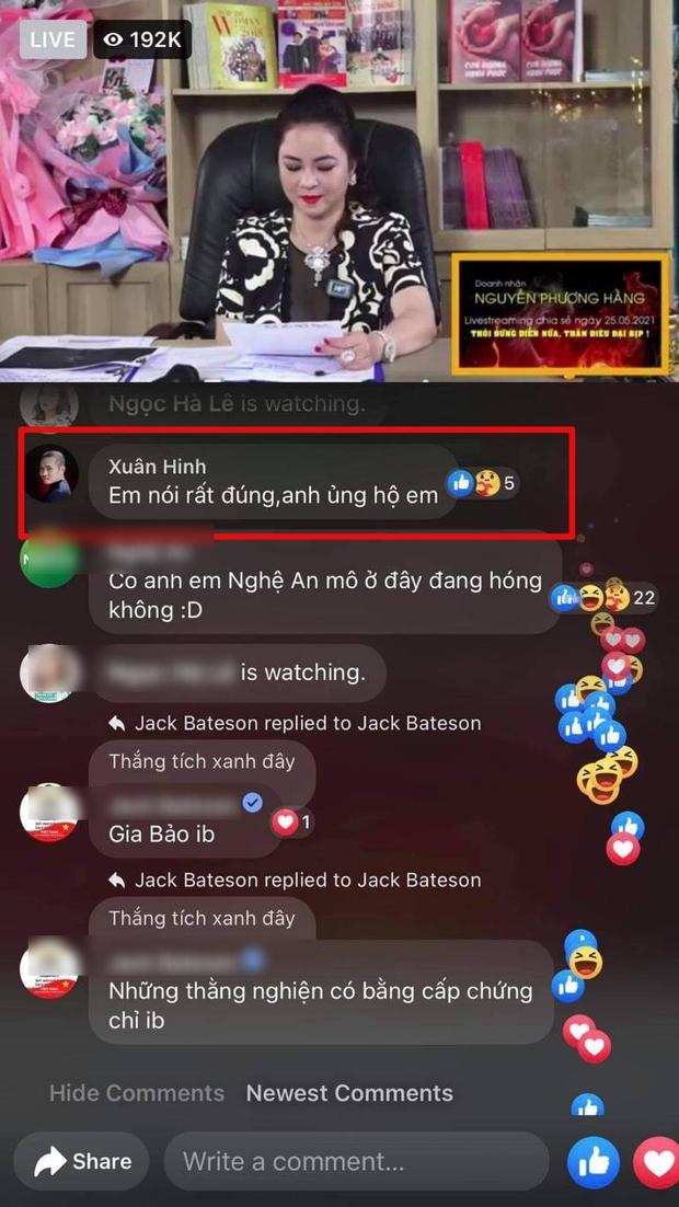 Vũ Khắc Tiệp, Quốc Trường lẫn dàn sao đổ xô cùng hóng xem livestream bà Phương Hằng đại náo showbiz - Ảnh 4.