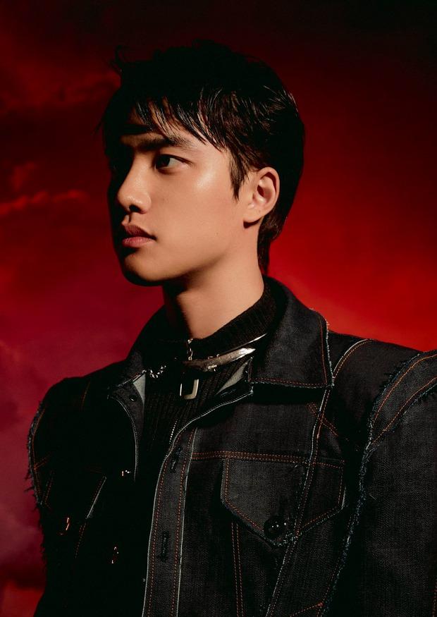 Bộ ảnh teaser comeback của EXO: Nhan sắc trẻ trung dù bị dìm, vốn được cài cắm hint từ MV của tình cũ Jennie? - Ảnh 6.