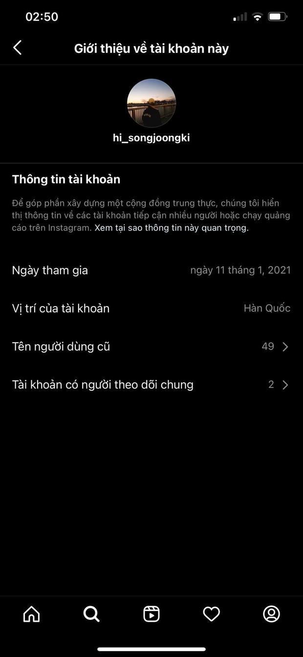 Song Joong Ki ơi, chơi Instagram mà sao khổ thế anh? Đổi tên tới 50 lần ư? - Ảnh 4.