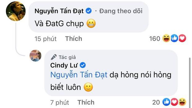 """Vợ cũ Hoài Lâm và Đạt G nhập đường đua """"cẩu lương"""" sau khi xác nhận hẹn hò, chỉ 1 bình luận đã nói rõ tình trạng hiện tại - Ảnh 3."""