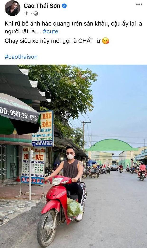 Khoe ảnh chạy siêu xe chất lừ, Cao Thái Sơn bị netizen nhắc nhở ý thức tham gia giao thông, phải vội vàng giải thích - Ảnh 2.
