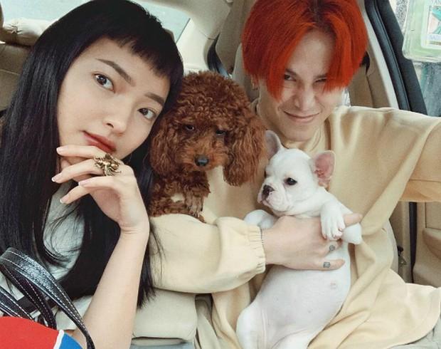 Châu Bùi đăng ảnh I Love You mừng sinh nhật Binz, có cameo chung vui là con chó từng nuôi với Decao - Ảnh 6.