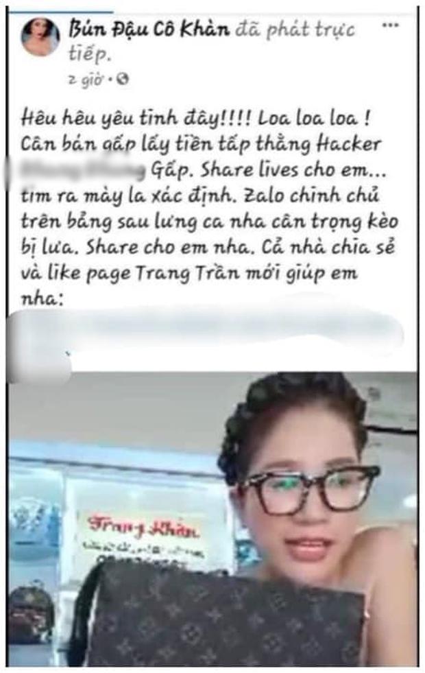 Biến mới: Trang Trần thách thức IT giúp bà Phương Hằng, nhưng né mạnh khi bị tìm đến tận nhà, lên tiếng cầu cứu vì bị đe dọa - Ảnh 2.