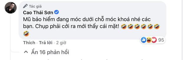 Khoe ảnh chạy siêu xe chất lừ, Cao Thái Sơn bị netizen nhắc nhở ý thức tham gia giao thông, phải vội vàng giải thích - Ảnh 4.