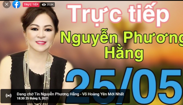 Hơn 300k người xem livestream bà Phương Hằng sau 30p, và vẫn đang tăng! - Ảnh 1.
