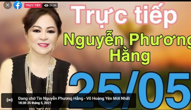 Hơn 300k người xem livestream bà Phương Hằng sau 30p, và vẫn đang tăng! - Ảnh 3.
