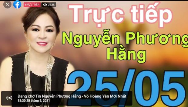 Hơn 300k người xem livestream bà Phương Hằng sau 30p, và vẫn đang tăng! - Ảnh 4.
