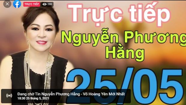Hơn 300k người xem livestream bà Phương Hằng sau 30p, và vẫn đang tăng! - Ảnh 5.