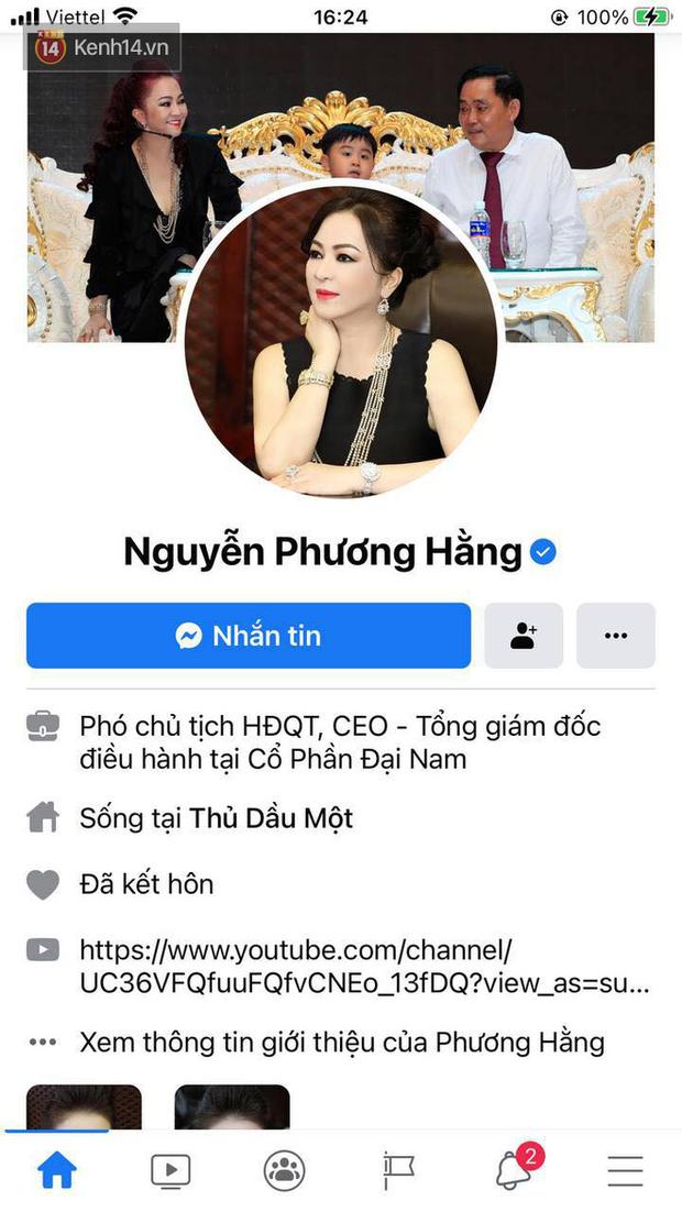 Vừa làm động thái này trên Facebook, bà Phương Hằng hút hơn 400.000 lượt theo dõi - Ảnh 2.