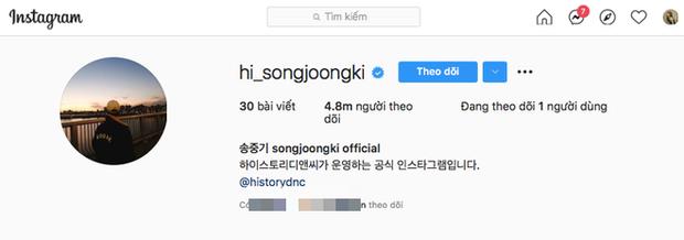 Song Joong Ki ơi, chơi Instagram mà sao khổ thế anh? Đổi tên tới 50 lần ư? - Ảnh 2.