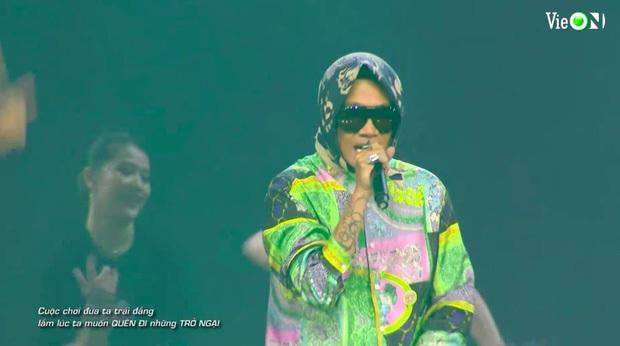 Từ HLV đến thí sinh đều cháy hết mình, Rap Việt All-Star Concert lập luôn thành tích công chiếu đầy ấn tượng - Ảnh 3.