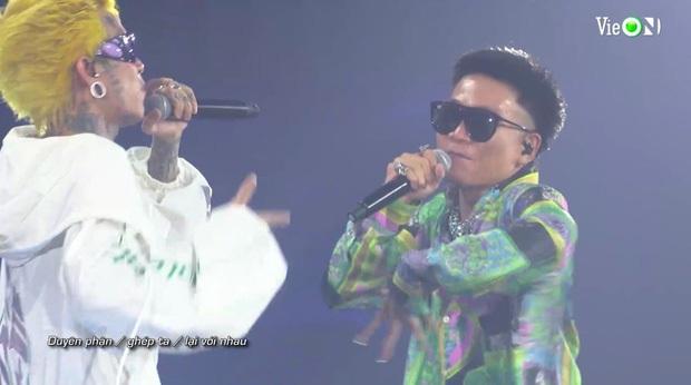 Từ HLV đến thí sinh đều cháy hết mình, Rap Việt All-Star Concert lập luôn thành tích công chiếu đầy ấn tượng - Ảnh 7.