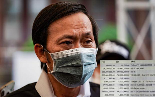 Thực hư hình ảnh được cho là sao kê giao dịch tài khoản của Hoài Linh, hacker hay nhân viên ngân hàng để lộ? - Ảnh 1.