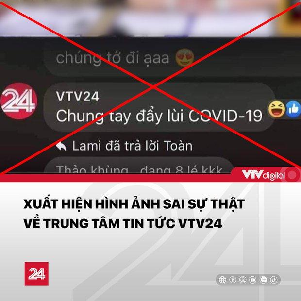 Thực hư chuyện VTV24 tranh thủ tuyên truyền chống dịch trên livestream của bà Phương Hằng - Ảnh 2.