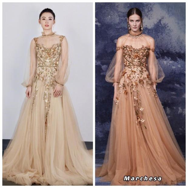 Ngoài tuổi 40, Trương Bá Chi vẫn đẹp nức lòng, chỉ thay đổi một chi tiết trên váy mà đỉnh hơn cả mẫu quốc tế - Ảnh 4.