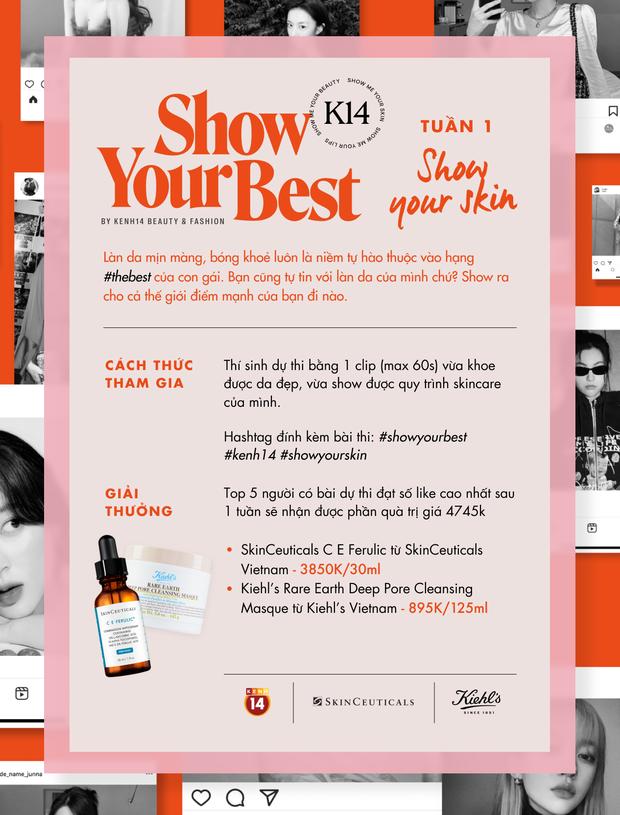 Show Your Best Contest tuần 1: Chỉ cần khoe da, có ngay quà xịn! - Ảnh 3.