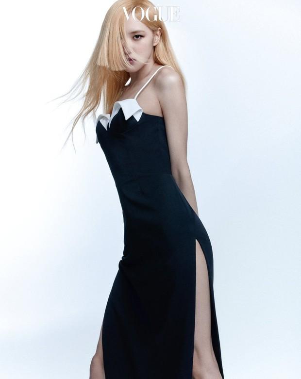 Trọn bộ ảnh tạp chí đang gây bão MXH của BLACKPINK: Rosé F5 tóc là lột xác hẳn, Lisa - Jisoo đột phá nhưng không át nổi Jennie - Ảnh 10.