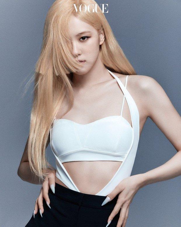 Idol định nghĩa combo cao - đẹp - tóc vàng hoe trong Kpop: Rosé - Yuna như công chúa, đại diện BTS - SEVENTEEN gây bất ngờ - Ảnh 2.