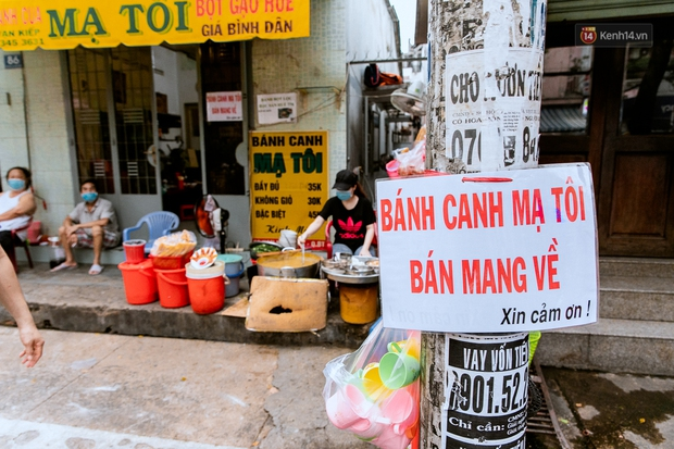 Quán xá Sài Gòn đồng loạt treo biển bán mang về: Nơi vẫn thấy đông người chờ mua, chỗ thì đóng cửa luôn vì quá ế ẩm - Ảnh 20.