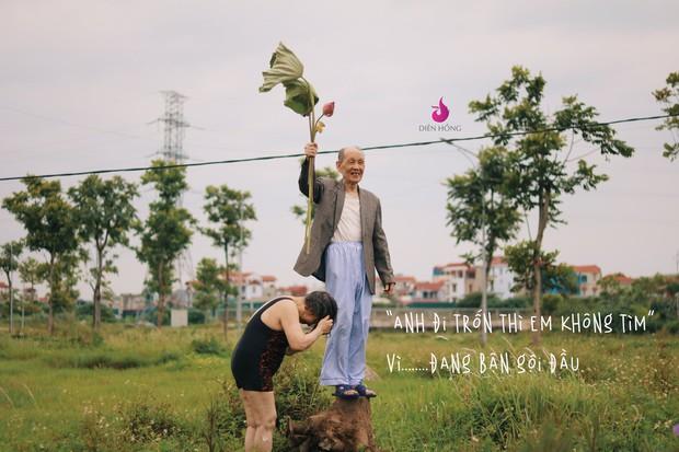 Bộ ảnh bắt trend MV Trốn Tìm đáng yêu hết nấc: Các cụ ở trung tâm dưỡng lão rất thích Đen Vâu - Ảnh 3.