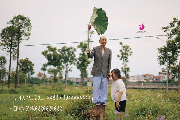 Bộ ảnh bắt trend MV Trốn Tìm đáng yêu hết nấc: Các cụ ở trung tâm dưỡng lão rất thích Đen Vâu - Ảnh 1.
