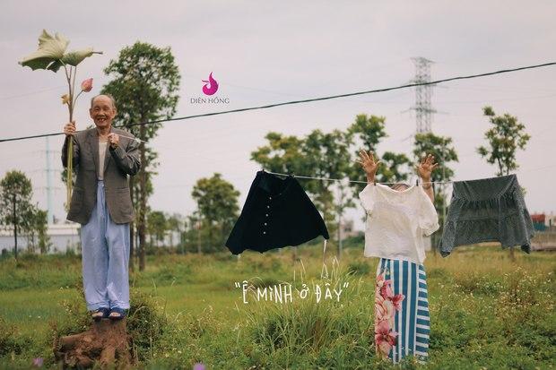 Bộ ảnh bắt trend MV Trốn Tìm đáng yêu hết nấc: Các cụ ở trung tâm dưỡng lão rất thích Đen Vâu - Ảnh 4.