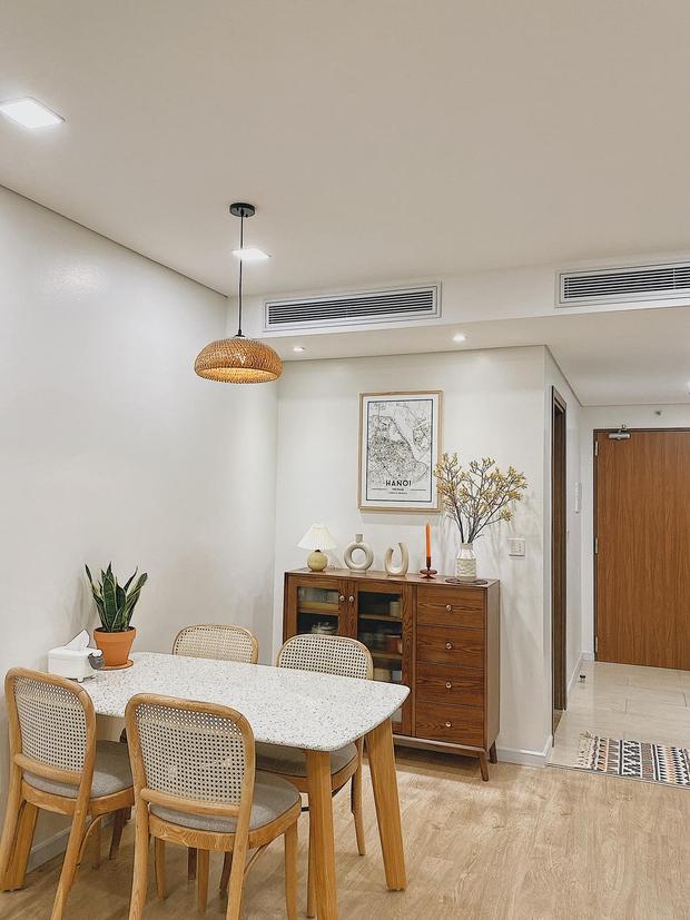 Mua chung cư 72m2, vợ chồng mới cưới tự tay thiết kế từng góc theo phong cách Hàn Quốc, chơi thêm cả bể cá ban công - Ảnh 3.