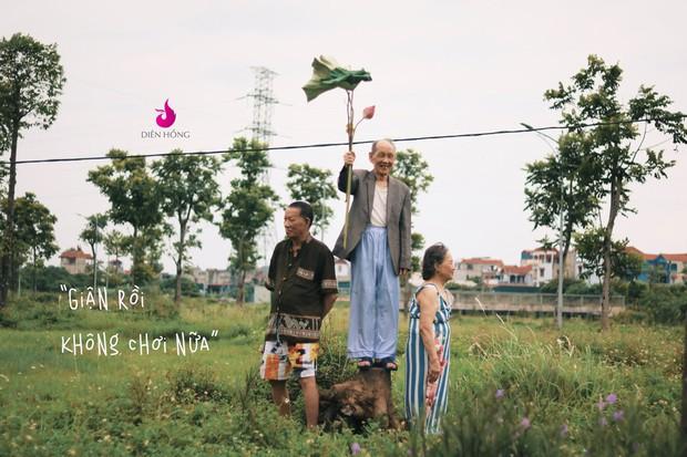 Bộ ảnh bắt trend MV Trốn Tìm đáng yêu hết nấc: Các cụ ở trung tâm dưỡng lão rất thích Đen Vâu - Ảnh 5.
