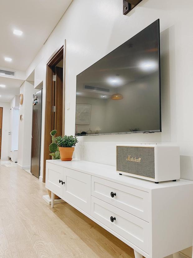 Mua chung cư 72m2, vợ chồng mới cưới tự tay thiết kế từng góc theo phong cách Hàn Quốc, chơi thêm cả bể cá ban công - Ảnh 5.