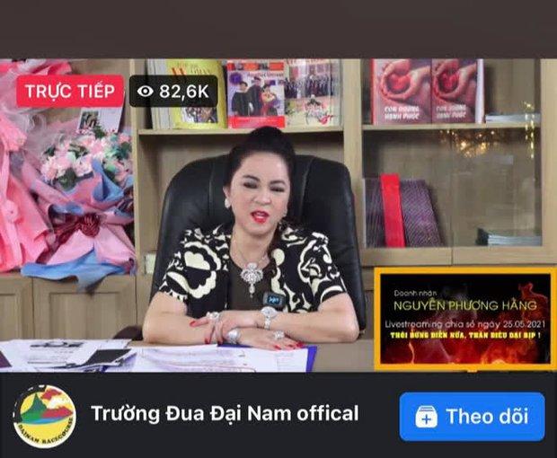Buổi livestream của bà Phương Hằng hút gần 500K người xem, gấp 12 lần sức chứa sân Mỹ Đình, thiết lập luôn nhiều thành tích khủng! - Ảnh 2.