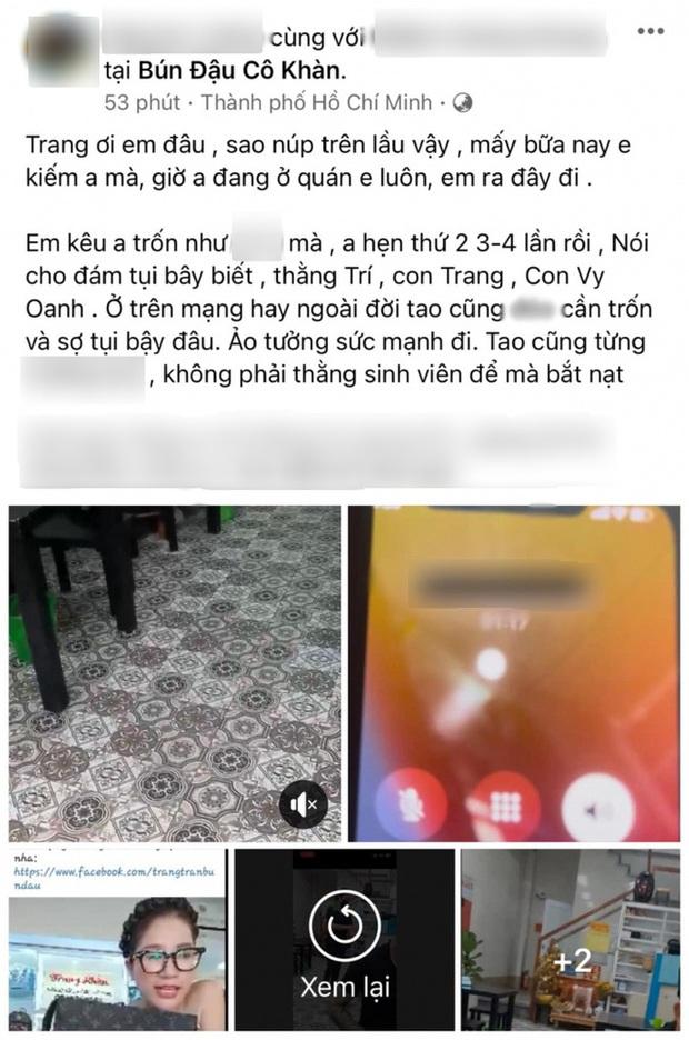 """Trang Trần livestream hẹn gặp đối chất trực tiếp cậu IT team bà Phương Hằng: Nếu không làm gì sai thì lý do gì phải sợ, chị ngồi đây chờ từ chiều"""" - Ảnh 5."""