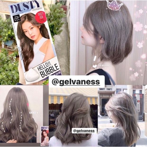 Dùng thử thuốc nhuộm tóc màu khói siêu hot Jennie quảng cáo: Kết quả còn tùy thuộc nhân phẩm nha! - Ảnh 2.